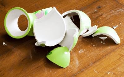 House Cleaner Breaks Client's Stuff, Broken Vase