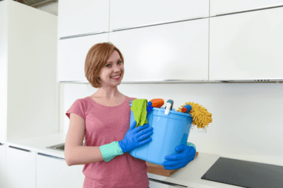 House Cleaner Breaks Client's Stuff, Happy House Cleaner