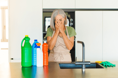House Cleaner Breaks Client's Stuff, Worried House Cleaner