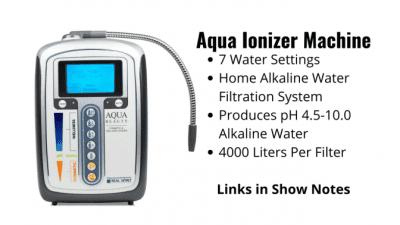 Mold and Mildew, Aqua Ionizer Machine
