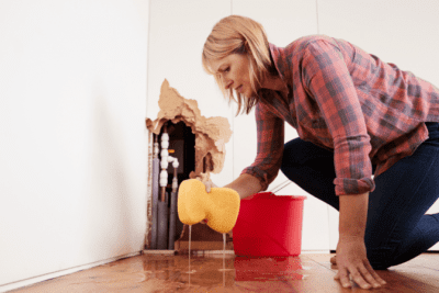 Mold and Mildew, Cleaning Flood Water in House