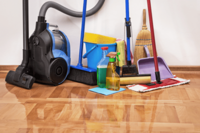 Organize Your Cleaning Car, Vacuum and Cleaning Supplies