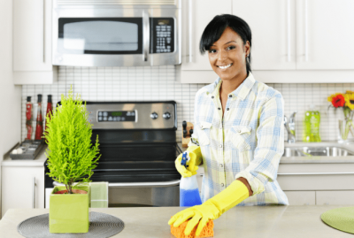 The Attitude of Gratitude, Happy House Cleaner