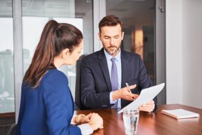 Trusted Advisors, Job Interview