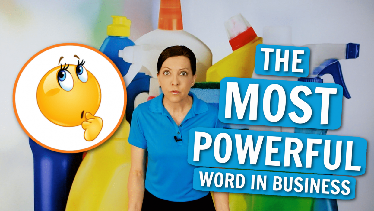The Most Powerful Word Angela Brown Ask a House Cleaner