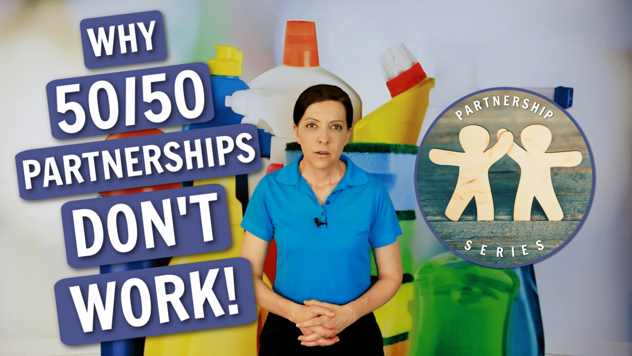 Partnerships Don't Work Angela Brown Ask a House Cleaner