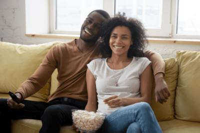 Business Partner Meetings, Couple Watch TV