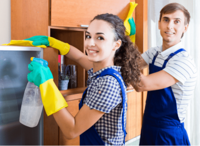 Business Partner Meetings, Two House Cleaners