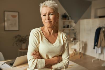 Customer Won't Pay, Angry Woman