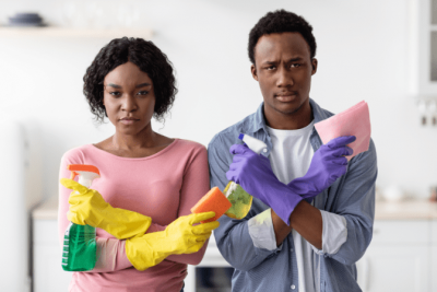 I Thought That Was Your Job, Unhappy House Cleaners