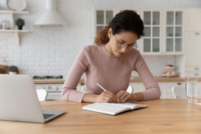 Partnerships Don't Work, Woman Writing