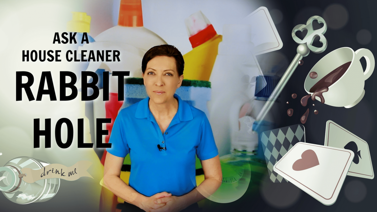 Ask a House Cleaner Rabbit Hole Angela Brown