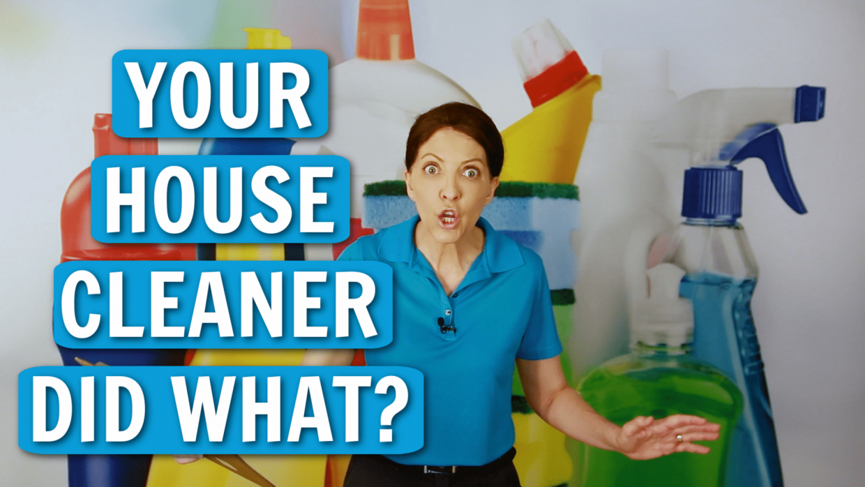 Talk to Your House Cleaner Angela Brown Ask a House Cleaner