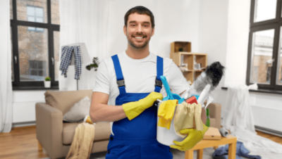 Good Cleaning At A Cheap Price, House Cleaner With Supplies