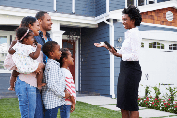 Move Out Cleans Only, Real Estate Agent and Family