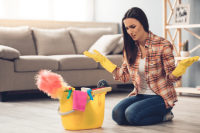 Overnight Success, Frustrated House Cleaner