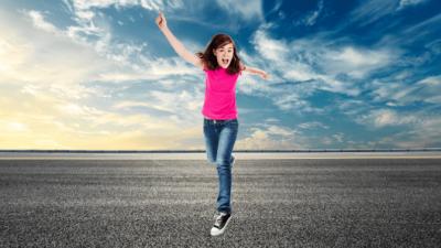 Overnight Success, Girl Running