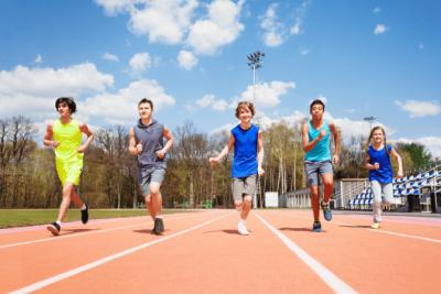 Overnight Success, Girls and Boys Running