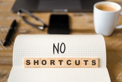 Overnight Success, No Shortcuts