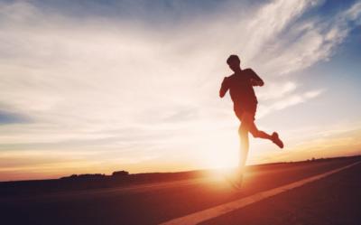 Overnight Success, Running at Sunset
