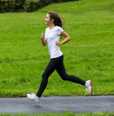 Overnight Success, Teen Girl Running