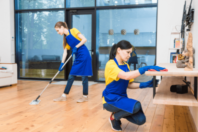 Overnight Success, Two House Cleaners