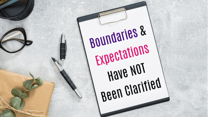 Talk To Your House Cleaner, Boundaries and Expectations
