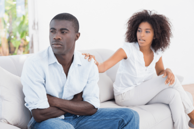 Talk To Your House Cleaner, Couple Disagreement