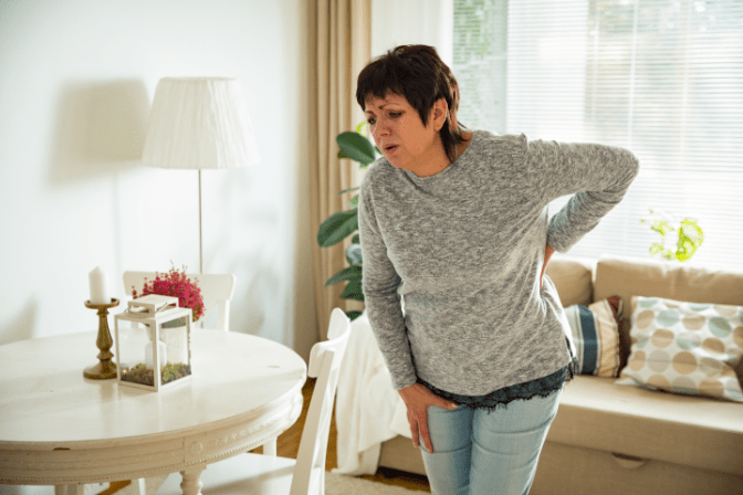 Talk To Your House Cleaner, Woman With Injured Back