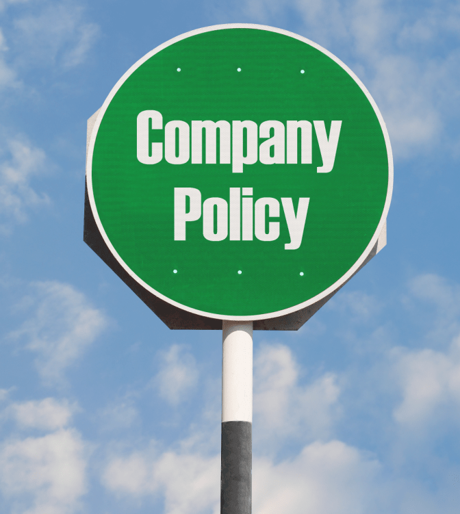 World's Greatest Cancellation Policy, Sign Company Policy