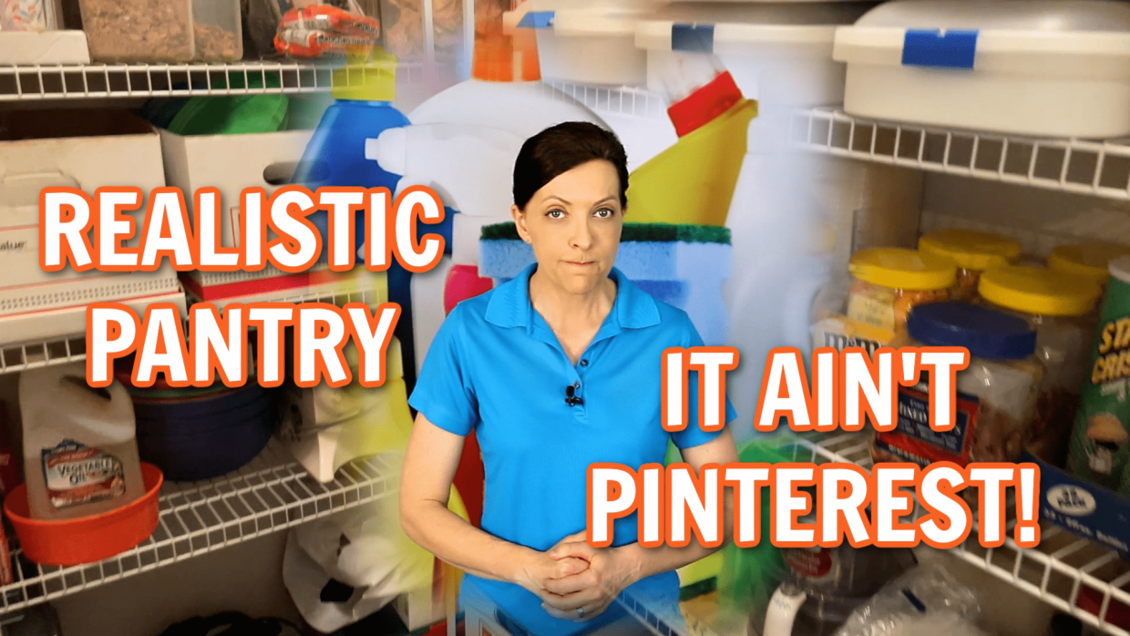 Practical Non Pinterest Pantry Organization Angela Brown Ask a House Cleaner