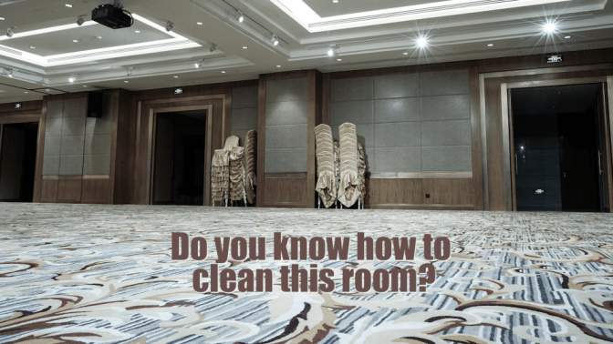 House Cleaning to Country Club Cleaning Banquet Room, Do You Know How To Clean This Room
