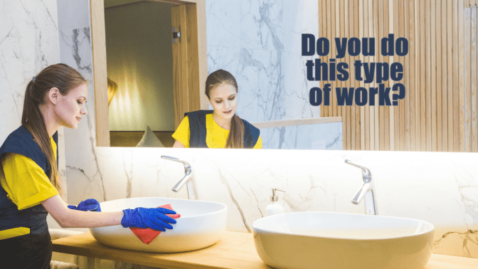 House Cleaning to Country Club Cleaning Woman Cleaning Bathroom