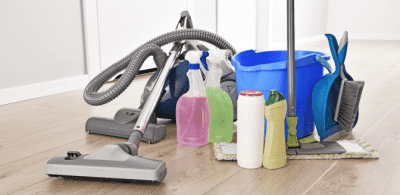 Brick and Mortar, Cleaning Supplies
